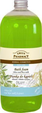 Green Pharmacy Płyn do kąpieli Oliwki & Mleko ryżowe - 811336 1
