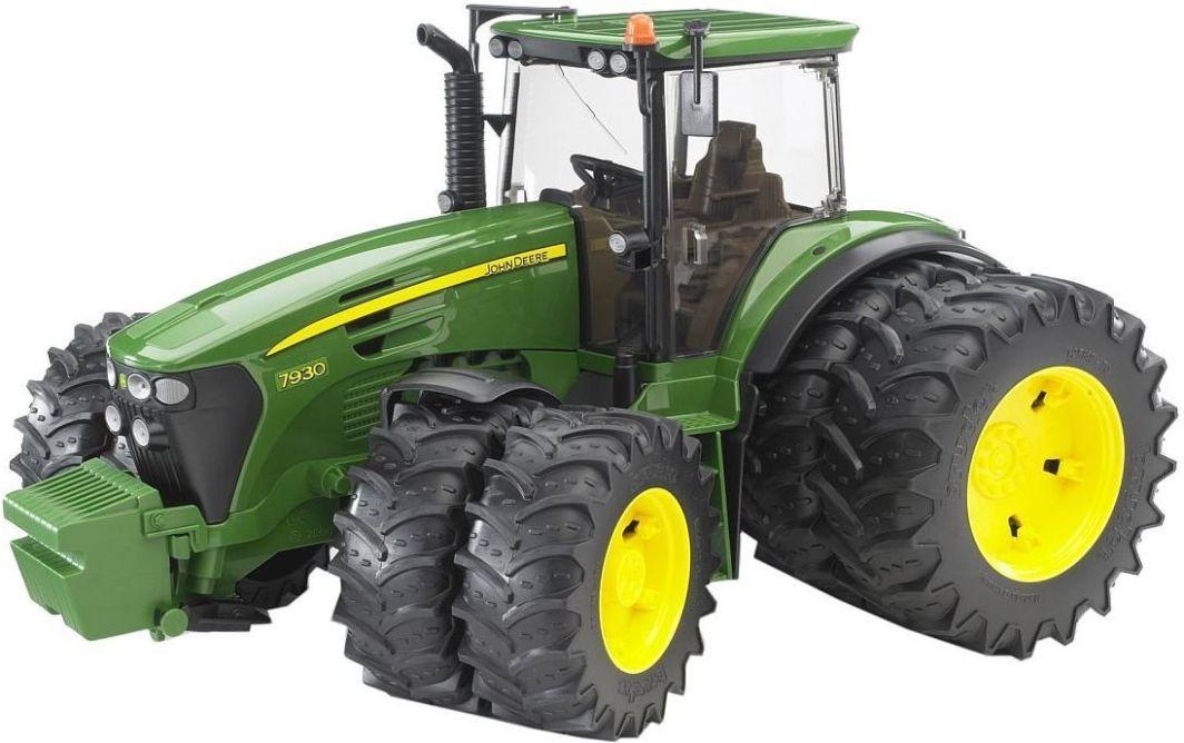 Bruder Traktor John Deere 7930 z podwójnymi kołami (03052) 1