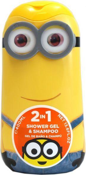 Epee Minionki 2w1 - Żel pod prysznic i szampon 400ml 1