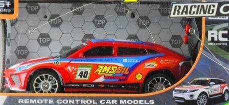 LEANToys Super auto na radio Policja Wyścigówka R/C 3 wzory 1