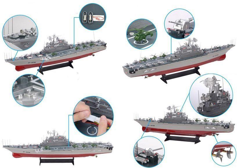 Leantoys Okręt Bojowy Lotniskowiec Rc Battleship W Morele Net
