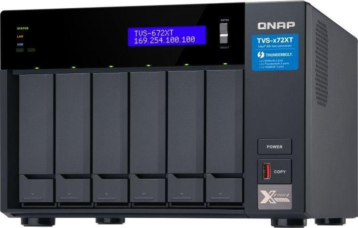 Serwer plików Qnap TVS-672XT-i5-8G 1