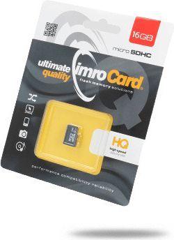 Karta Imro MicroSDHC 16 GB Class 10 UHS-I  (KOM000669) 1