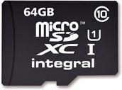 Karta Integral Ultima Pro MicroSDXC 64 GB Class 10 UHS-I/U1  (T_0014201) 1