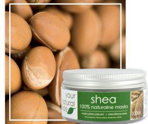 Your Natural Side shea organic (masło, nierafinowane) 100ml 1