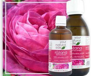Your Natural Side Woda z Kwiatów Róży Damasceńskiej 200ml 1