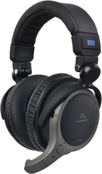 Słuchawki SoundMagic BT100, Czarne 1