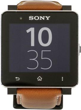 Smartwatch Sony Brązowy  (SW2 BR LEDER) 1