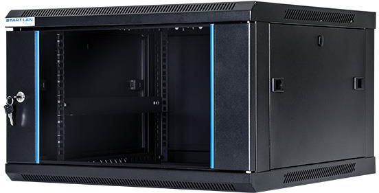 """Szafa DigitalBOX wisząca 6U rack 19"""", 600x450mm, czarny (STLWMC-6U-645-GSB) 1"""