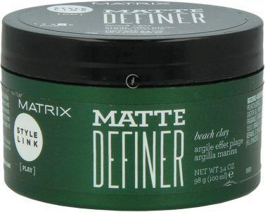 MATRIX Style Link Matte Definer Beach Clay Glinka teksturyzująca 100ml 1