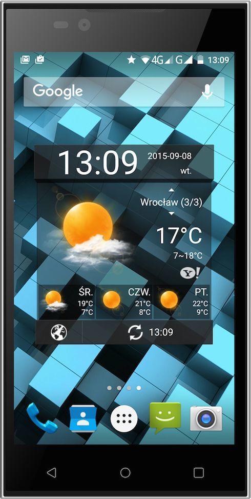 Smartfon myPhone 8 GB Dual SIM Czarny  (5902052862733) 1