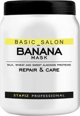 Stapiz Basic Salon Banana Mask Maska do włosów 1000ml 1