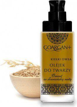 GoArgan  Głęboko nawilżający olejek do twarzy z olejem arganowym i olejem z kiełków owsa 1