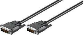 Kabel Wentronic DVI-D - DVI-D 3m czarny (44787) 1