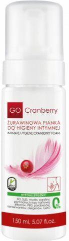 GoCranberry  Żurawinowa pianka do higieny intymnej 150 ml 1