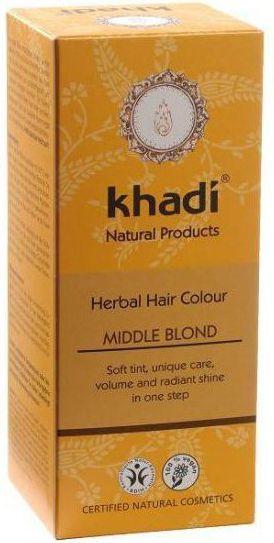 Khadi Henna naturalna ŚREDNI BLOND 1