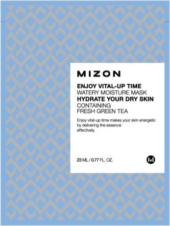 MIZON Nawilżająca maska z zieloną herbatą Enjoy Vital-Up Time Watery Moisture Mask 1