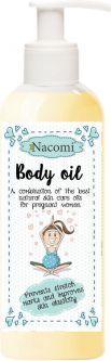 Nacomi Intensywnie nawilżający i ujędrniający olejek do ciała dla kobiet w ciąży 140ml 1