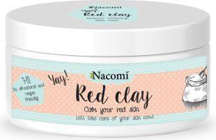 Nacomi Naturalna glinka czerwona o działaniu oczyszczającym i wyrównującym koloryt 100ml 1