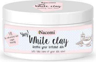 Nacomi Naturalna glinka biała (kaolin) o działaniu nawilżającym i łagodzącym 200 ml 1