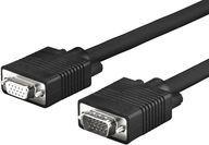 Kabel VivoLink D-Sub (VGA) - D-Sub (VGA) 1m czarny (PROVGAF1) 1
