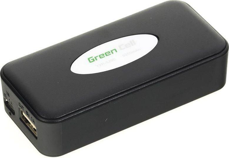 Powerbank Green Cell PB08 5200mAh Czarny (PB08-Cz) 1