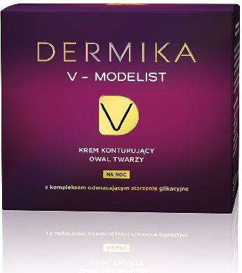 Dermika Dermika V-Modelist Krem konturujący owal twarzy na noc 50ml - 6375002 1