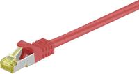 MicroConnect Kabel CAT 7 SFTP 1m LSZH Czerwony (SFTP701R) 1