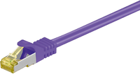 MicroConnect Patchcord CAT 7, S/FTP, fioletowy, 25m (SFTP725P) 1