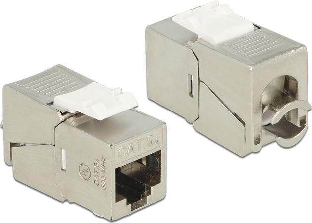 Delock Delock Keystone Module RJ45 jack > LSA Cat.6A compact - 86179 1