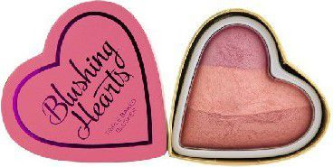Makeup Revolution Blushing Hearts Róż Candy Queen of Hearts 10g 1