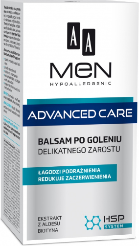 AA Men Adventure Care Balsam po goleniu delikatnego zarostu 100ml 1