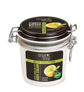 Organic Shop SLIM Krem na dzień Modelujący Kawa Cytryna 350 ml 1
