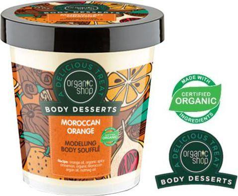 Organic Shop Body Desserts Krem do ciała Modelujący Moroccan Orange 450ml 1