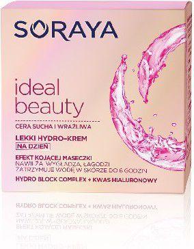 Soraya Ideal Beauty Lekki Hydro-krem kojący na dzień do cery suchej i wrażliwej 50ml 1