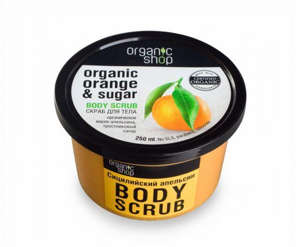 Organic Shop Scrub do ciała Sicilian Orange 250 ml 1