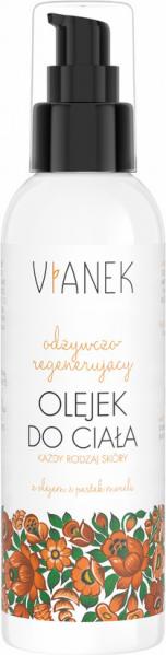 Vianek pomarańczowy Odżywczo-regenerujący olejek do ciała 200ml 1