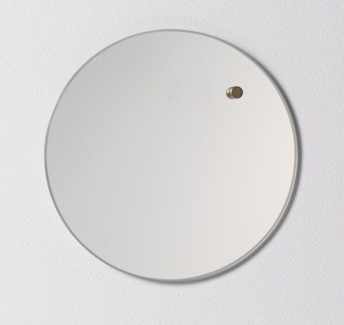 NAGA Szklana tablica magnetyczna lustro 25 cm (70360) 1