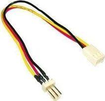 MicroConnect Przedłużka 3pin - 3pin, M / F, 20cm (PI05062) 1