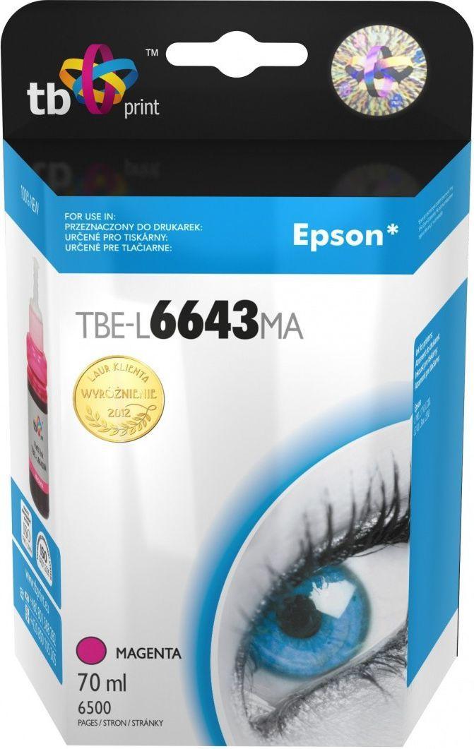 TB tusz C13T66434A / T6643 (magenta) 1