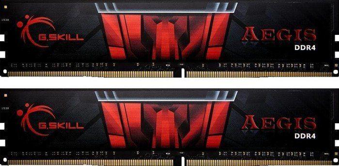 Pamięć G.Skill Aegis, DDR4, 16 GB, 3000MHz, CL16 (F4-3000C16D-16GISB) 1