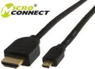 Kabel MicroConnect HDMI Micro - HDMI 2m czarny (HDM19192V1.4D) 1