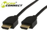 Kabel MicroConnect HDMI - HDMI 5m czarny (HDM19195V1.4) 1