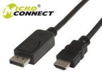 Kabel MicroConnect DisplayPort - HDMI 3m czarny (DP-HDMI-300) 1