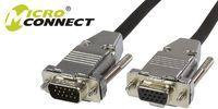 Kabel MicroConnect D-Sub (VGA) - D-Sub (VGA) 10m srebrny (MONGH10-METAL) 1