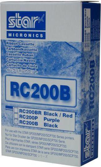 Star Micronics Taśma do kas fiskalnych, RC200B, Czarny 1