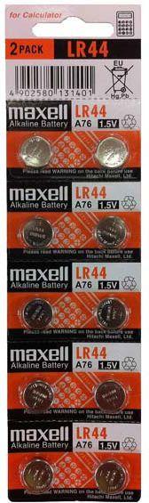 Maxell Bateria LR44 10szt. 1