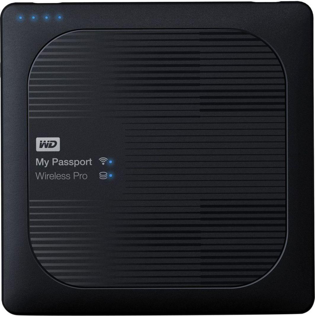 Dysk zewnętrzny Western Digital HDD My Passport Wireless Pro 3 TB Czarny (WDBSMT0030BBK-EESN) 1