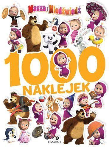 Masza i Niedźwiedź 1000 naklejek 1