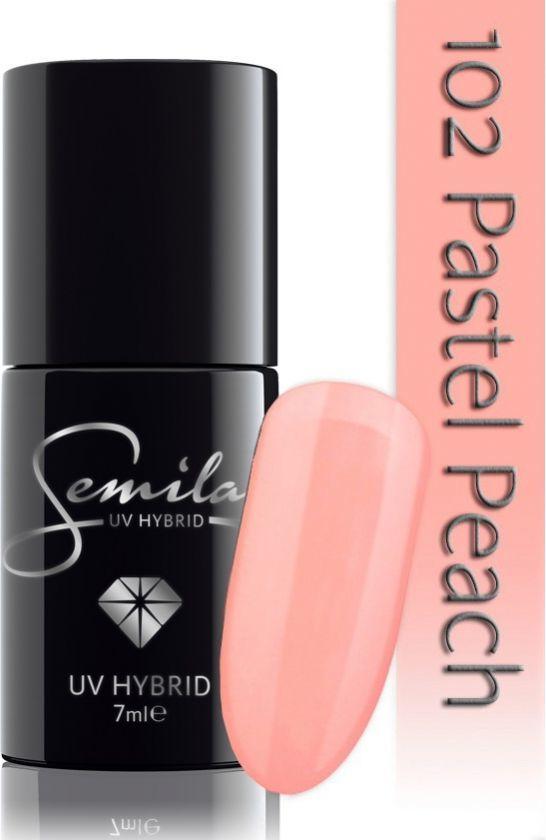 Semilac 102 Pastel Peach 7ml 1